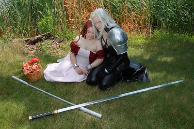 Aerith Gainsborough & Sephiroth