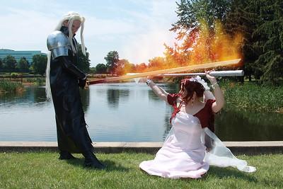 Sephiroth vs. Aerith Gainsborough