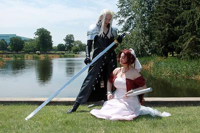 Sephiroth & Aerith Gainsborough