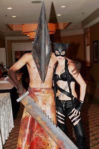 Pyramid Head & Catwoman