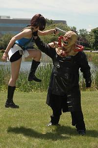 Jill Valentine vs. Nemesis