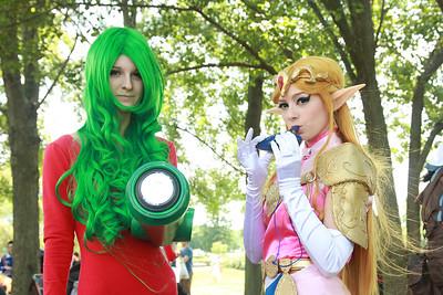Samus Aran & Princess Zelda