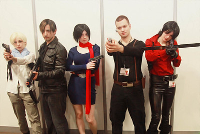 Ashley Graham, Leon Kennedy, Carla Radames, Jake Muller, & Claire Redfield