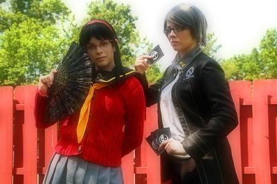 Yukiko Amagi & Yu Narukami