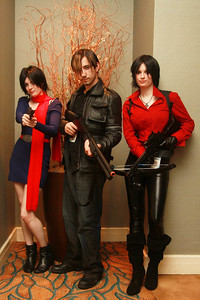 Carla Radames, Leon Kennedy, & Claire Redfield