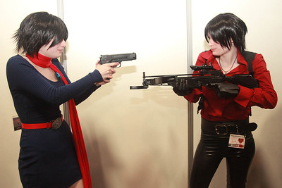 Carla Radames vs. Claire Redfield