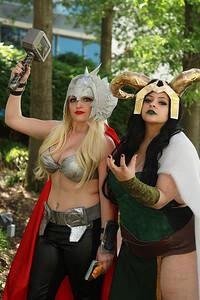 Thor & Lady Loki