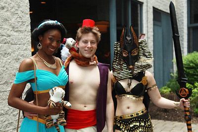 Princess Jasmine, Aladdin, & Anubis