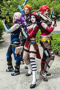 Maya, Axton, Mad Moxxi, & Lilith