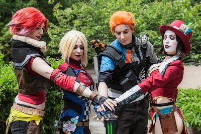 Lilith, Maya, Axton, & Mad Moxxi