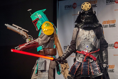 Cosplay Contest: Boba Fett & Darth Vader