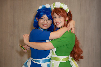 Sailor Mercury & Sailor Jupiter