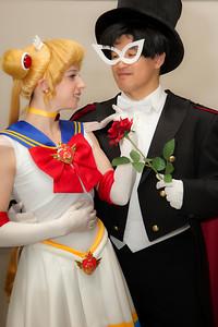 Sailor Moon & Tuxedo Mask