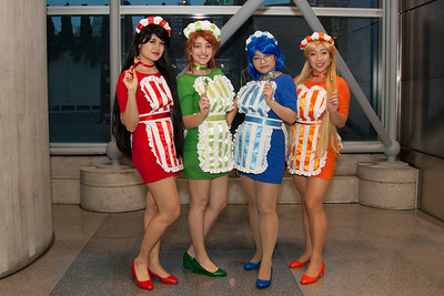 Sailor Mars, Sailor Jupiter, Sailor Mercury, & Sailor Venus