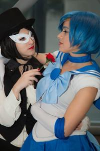 Tuxedo Mask & Sailor Mercury