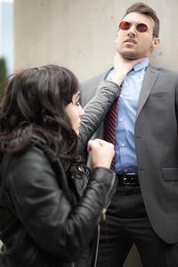Jessica Jones vs. Matt Murdock