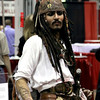 Random costumed - Captain Jack Sparrow (this guy had Depp's mannerisms down to a T)