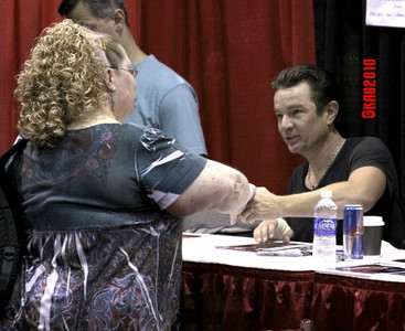 Meeting James Marsters for the 5th time.