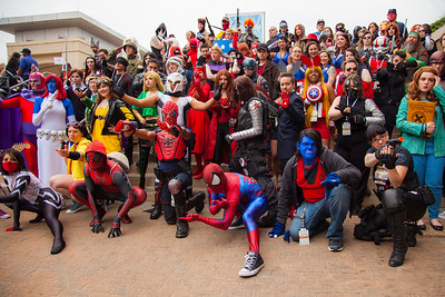 """Marvel Comics"" Group Shoot"