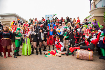 """DC Comics"" Group Shoot"
