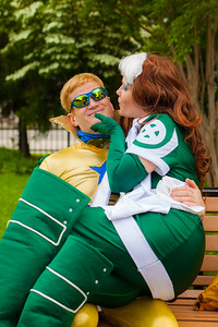 Booster Gold & Rogue