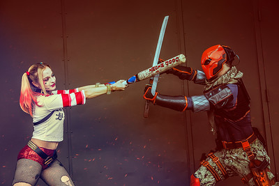Harley Quinn vs. Deathstroke