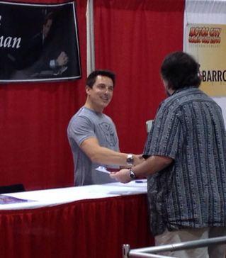 . Images from Friday May 16 at the Motor City Comic Con in Novi, Michigan.  Photo by David Komer.
