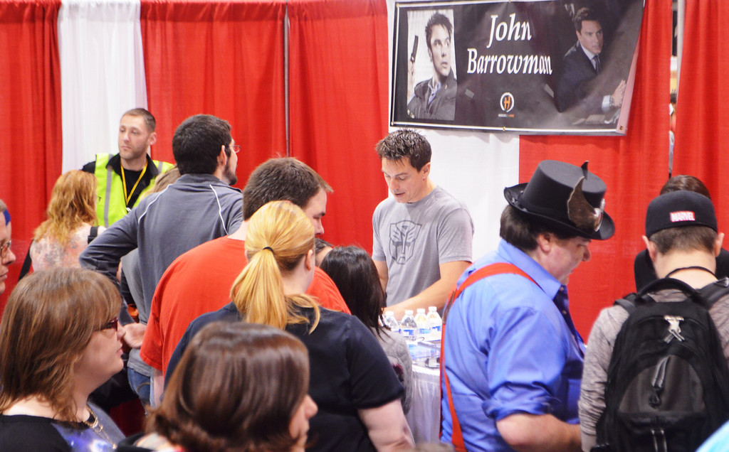 . Images from Friday May 16 at the Motor City Comic Con in Novi, Michigan.  Photo by Dave Herndon.
