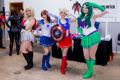 Avengers X Sailor Moon Mash-Ups