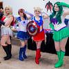 Avengers X Sailor Moon Mash-Ups