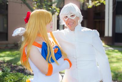 Sailor Venus & Ace Kaitou