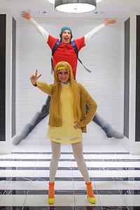 Fredzilla & Honey Lemon