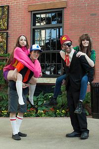 Mabel Pines, Dipper Pines, Stanford Pines, & Wendy Corduroy