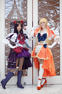 Sailor Saturn & Sailor Venus