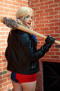 Negan/Harley Quinn Mash-Up