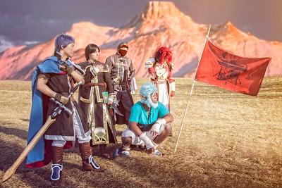 Ike, Soren, Volke, Titania, & Mordecai