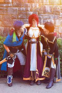Ike, Titania, & Soren