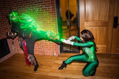 Shredder vs. Green Lantern