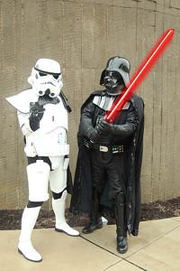 Imperial Stormtrooper & Darth Vader