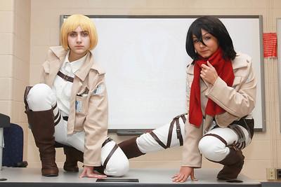 Armin Arlert & Mikasa Ackerman