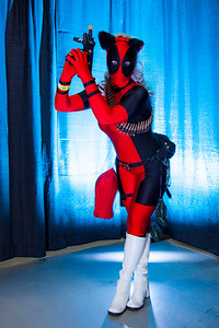 Neko Lady Deadpool