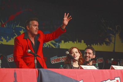 Evil Dead: Bruce Campbell, Jane Levy, & Fede Alvarez
