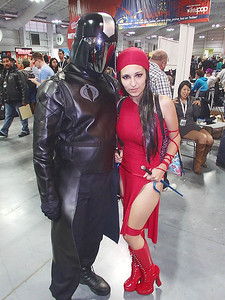 Cobra Commander & Elektra