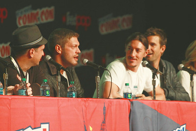 "Haven: Jim Dunn, Adam ""Edge"" Copeland, Eric Balfour, & Lucas Bryant"