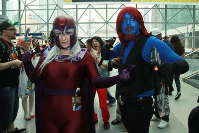 Magneto & Mystique