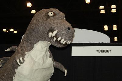 Woolbuddy Godzilla