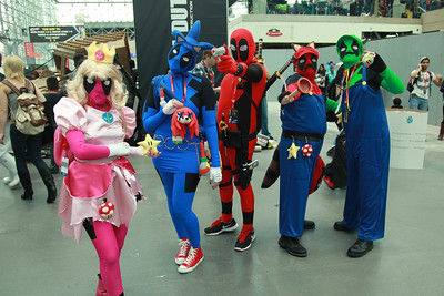 Deadpool X Super Mario Bros. & Sonic the Hedgehog