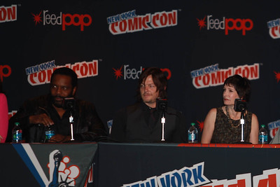 The Walking Dead: Chad Coleman, Norman Reedus, & Gale Ann Hurd