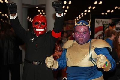 Red Skull & Thanos