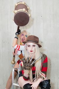 Harley Quinn & Freddy Krueger